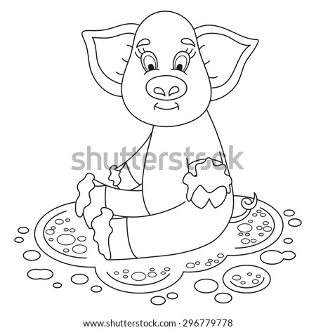 mud puddle coloring pages - photo#20