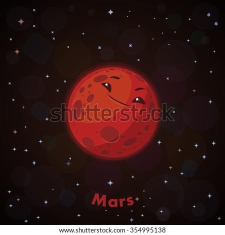 mars planet vector - photo #40