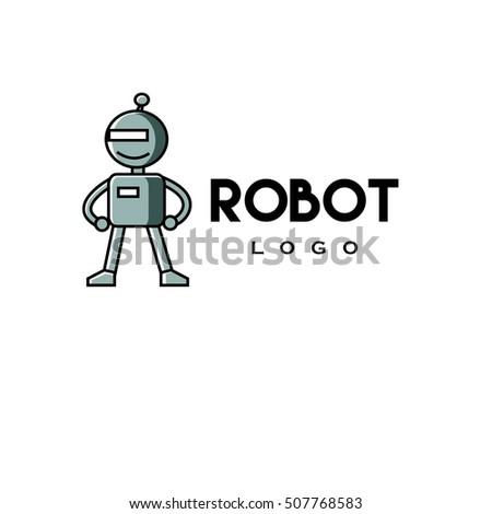 robot logo stock images royaltyfree images amp vectors