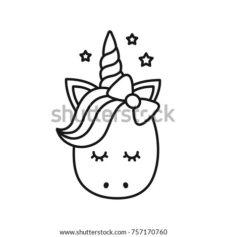 Cute Alicorn Cat Coloring Page