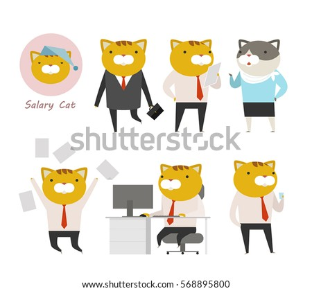 Personification Cartoon Characters Personification Stock ...