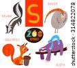 cute zoo alphabet in vector.s...