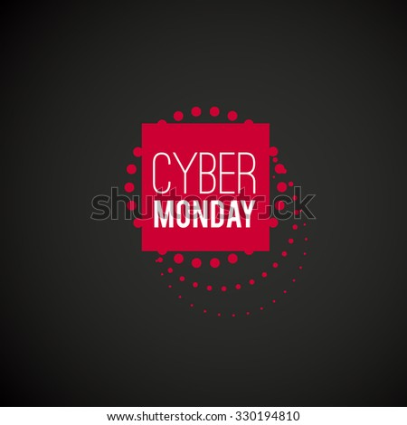 Cyber Monday - stock vector