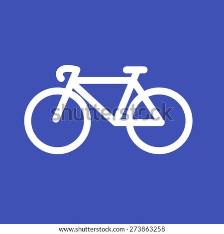 Cycle, bicycle, cycling, sports icon vector image. Can also be used for sports, fitness, recreation. Suitable for web apps, mobile apps and print media. - stock vector