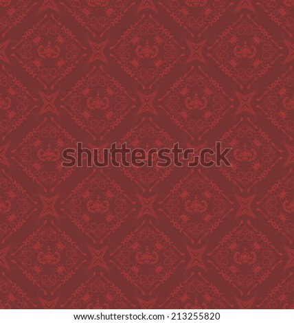 damask decorative wallpaper for walls vector vintage seamless patterns abstract background