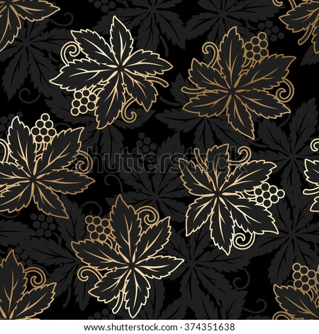Damask seamless floral pattern. Royal wallpaper. Vector illustration. EPS 10 - stock vector