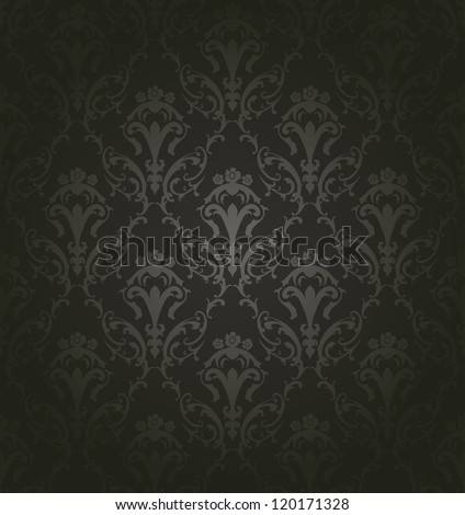 Damask seamless pattern. For easy making seamless pattern just drag all group into swatches bar, and use it for filling any contours. Fully editable EPS 8 vector illustration. - stock vector