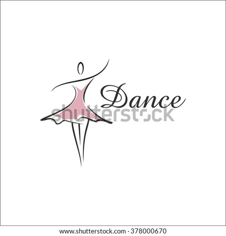 Dance school - stock vector