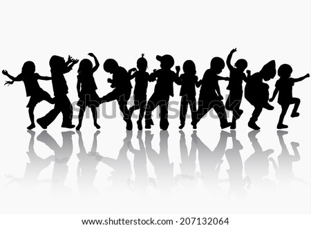 Astounding Kids Dancing Stock Images Royalty Free Images Vectors Short Hairstyles Gunalazisus