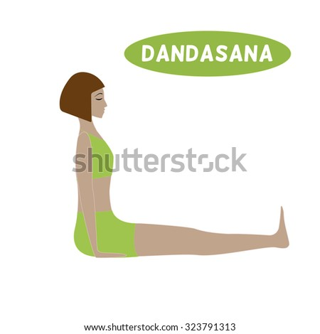 14 dandasana hindi  yoga poses