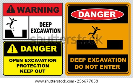Image Search Details in addition Printthread moreover Danger Deep Excavations Safety Sign 9955 P moreover Hazard Warning Signs moreover Deep excavation. on construction signs danger deep excavations