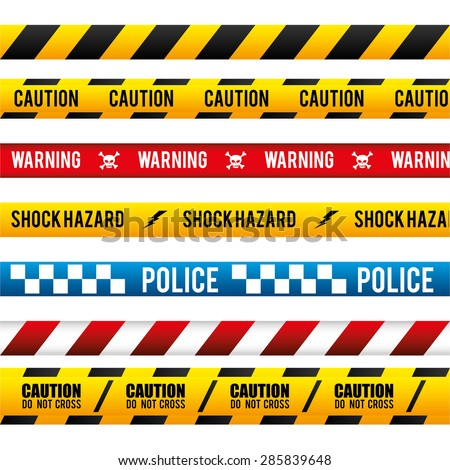 Danger design over white background, vector illustration.