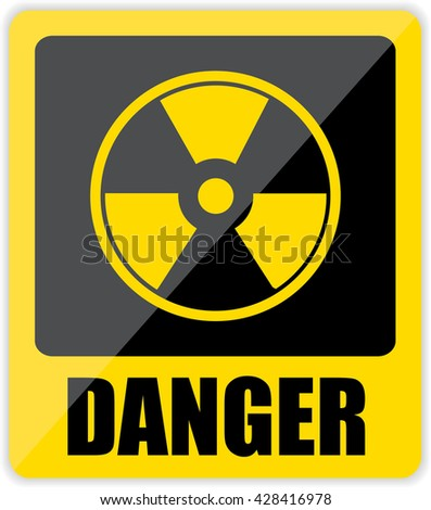 Danger Sign. Vector