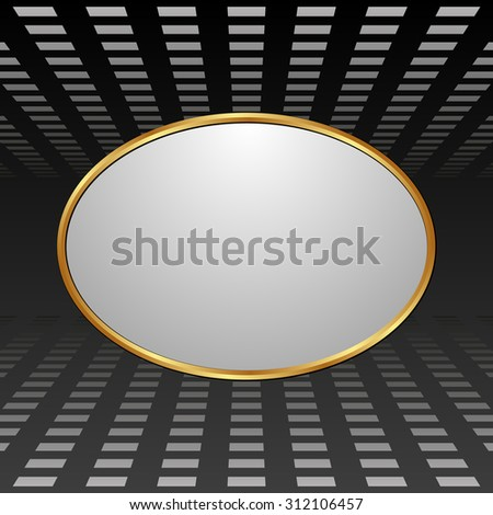 dark background with light plate