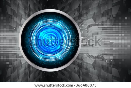 dark black blue Light Abstract Technology background for computer graphic website internet and business. circuit. illustration.digital.infographics. binary code. www.vector.motion. eye scan virus