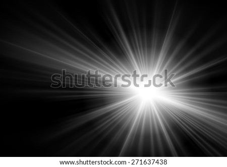 dark black Light Abstract background. - stock vector