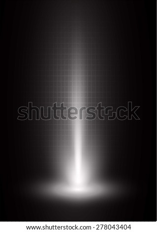 Dark black light Abstract background, rays. stage  - stock vector