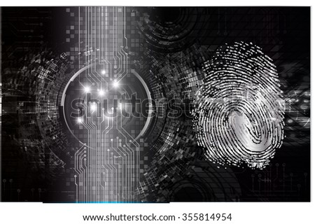 Dark black Light Abstract Technology background for computer graphic website internet and business.circuit.vector illustration. infographics.motion move blur.neon. pixel. fingerprint.Finger-print