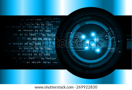 dark blue color Light Abstract Technology background for computer graphic website internet and business. circuit. vector illustration.