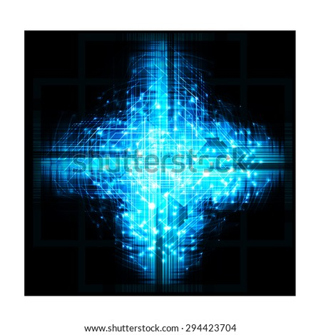 dark blue color Light Abstract Technology background for computer graphic website internet and business. circuit. illustration. digital. infographics. binary code background