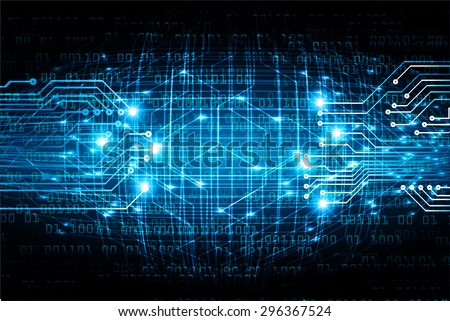 dark blue color Light Abstract Technology background for computer graphic website internet and business. circuit. illustration. digital. infographics. binary code background. www.vector.Spark.zero one - stock vector