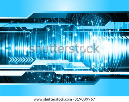 dark blue color Light Abstract Technology background for computer graphic website internet and business.circuit.vector illustration. abstract digital. infographics. motion move blur.neon.wave