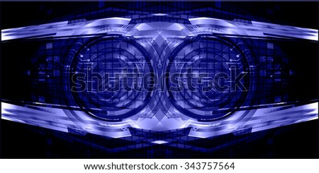 dark blue color Light Abstract Technology background for computer graphic website internet and business. circuit. illustration. digital. infographics. binary code background. www.vector.Spark vector