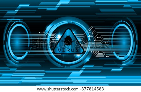 Dark blue color Light Abstract Technology background for computer graphic website internet and business. circuit. vector illustration. infographics. motion move blur.neon. pixel. eye scan virus key