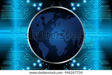dark blue eye Light Abstract Technology background for computer graphic website internet and business. circuit. illustration. digital. infographics. binary code. www. vector. cyber world - stock vector