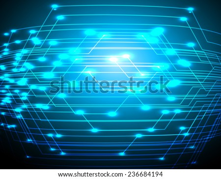 Dark blue Light Abstract Technology background for computer graphic website and internet.