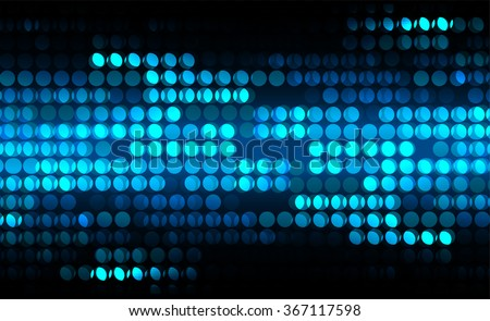 dark blue silver Light Abstract Technology background for computer graphic website internet and business. circuit. illustration.digital.infographics. binary code. pixel screen Spot Effect. neon.point - stock vector