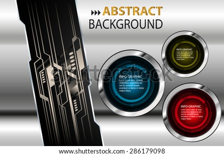 dark blue yellow red silver Web Design Website Elements Template for graphic internet. text box. label. info graphics. metal. card. pixel. Metals, alloys, steel, aluminum. button. infographics