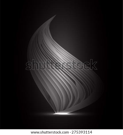 dark color Light Abstract Technology background for computer graphic website internet and business. black background. - stock vector