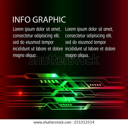 Dark colorful color Light Abstract Technology background for computer graphic website internet. circuit. text box. card. label.