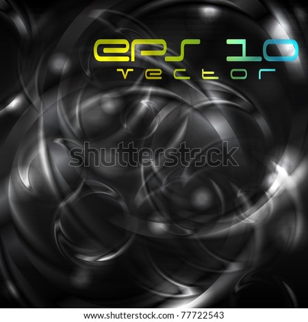 Dark elegant background. Eps 10 vector - stock vector