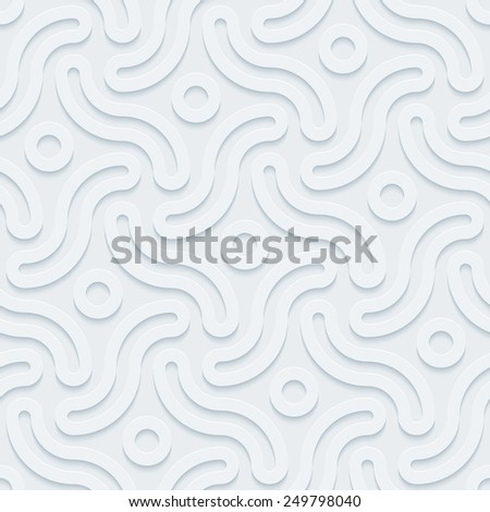 Dark gray perforated paper with cut out effect. Editable EPS10. See others in my Perforated Paper Sets. - stock vector