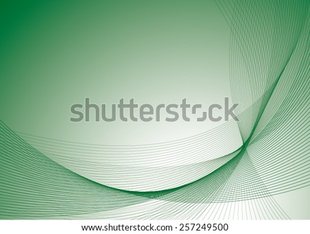 dark green background with curves