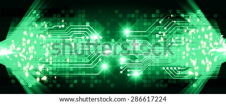 Dark yellow green red light abstract vectores en stock 286687541 dark green light abstract technology background for computer graphic website internet businessrcuit vector aloadofball Choice Image
