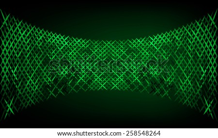 Dark green  Vector abstract design. pixels mosaic background computer graphic website and internet. - stock vector