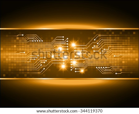 dark orange color Light Abstract Technology background for computer graphic website internet and business. circuit. illustration. digital. infographics. binary code background. www. vector.one. zero
