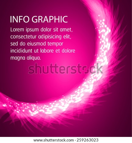 Dark pink Light Abstract Technology background for computer graphic website internet and business. text box. Brochure. card.