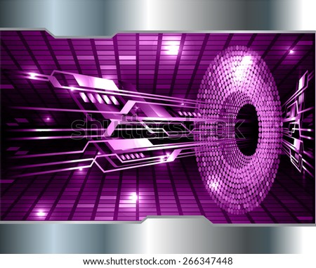 Dark purple color Light Abstract Technology background for computer graphic website internet. circuit. Mosaic table, pixels