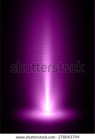 Dark purple light Abstract background, rays. stage. infographics. infographics. - stock vector