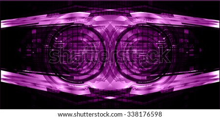 dark purple Light Abstract Technology background for computer graphic website internet and business. circuit. illustration. digital. infographics. binary code background. www. vector.one. zero.eye