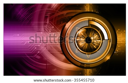 dark purple orange Light Abstract Technology background for computer graphic website internet and business. circuit. illustration. digital. infographics. binary code. www. vector.one. zero. Spark eye