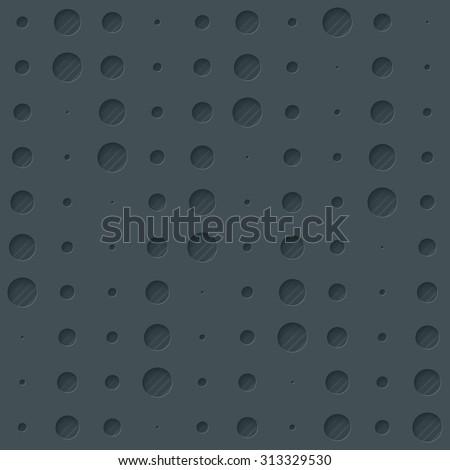 Dark rain dots walpaper. 3d seamless background. Vector EPS10. - stock vector