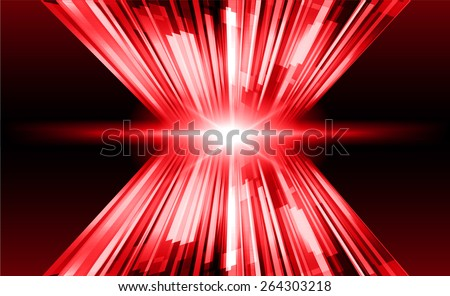 dark red color Light Abstract Technology background for computer graphic website internet and business. circuit. star
