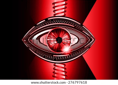dark red color Light Abstract Technology background for computer graphic website internet and business. circuit. vector illustration. pixel. mosaic. infographics. eye. eye ball.