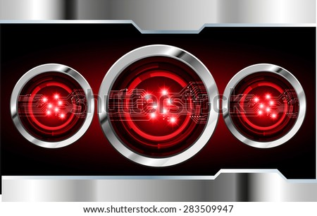 dark red color Light Abstract Technology background for computer graphic website internet and business. circuit. vector illustration. abstract digital . silver. star