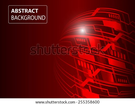 Dark red color Light Abstract Technology background for computer graphic website internet. circuit. text box. card. label.